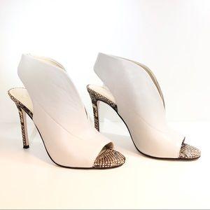 Jessica Simpson Javrey Mule Peep Toe Heel, 7.5